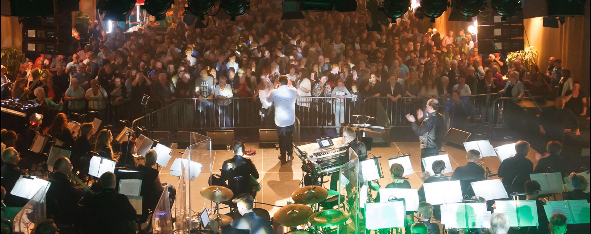 Wij zijn de muziekvereniging met grote en vernieuwende concerten